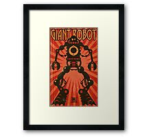 Giant Robot Framed Print
