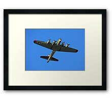Boeing B17 Flying Fortress Framed Print