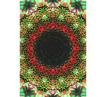 Strange abstract multicolored pattern Photographic Print
