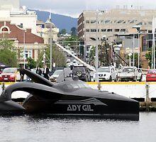 Ady Gil by Ricky Pfeiffer