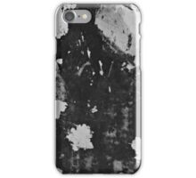 The black and white wallpaper remnants iPhone Case/Skin