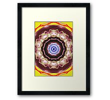 Modern abstract pattern Framed Print
