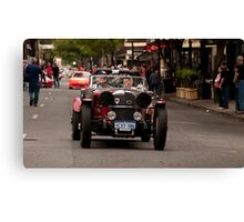 Norwood Street Party, Classic Adelaide Car Rally Canvas Print