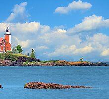 Eagle Harbor Lighthouse I by Mark Bolen