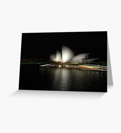 Opera Blur Greeting Card