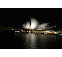 Opera Blur Photographic Print