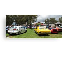 McLarens on the Lake, Classic Adelaide Car Rally Canvas Print