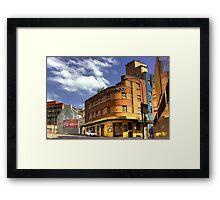 Hotel Hollywood - Surry Hills, Sydney, Australia Framed Print