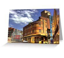 Hotel Hollywood - Surry Hills, Sydney, Australia Greeting Card