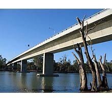 Robinvale - Euston Bridge Photographic Print