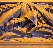 Lily of the Valley Carving at Grace Church by ElyseFradkin