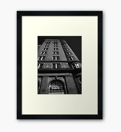 View From the Ground Framed Print