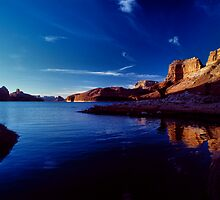 Morning On Lake Powell by Tom Fant