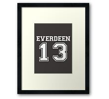 Everdeen - T 1 Framed Print