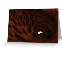The Enlighted Cave Greeting Card
