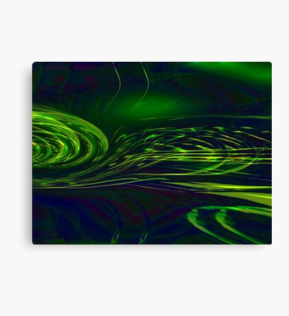 brains eye Canvas Print