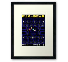 pac-dead Framed Print
