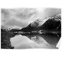 Tasman Lake Poster
