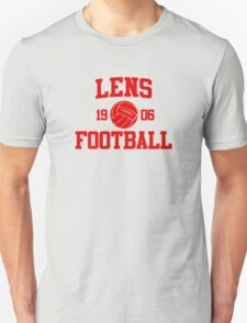 Lens Football Athletic College Style 2 Gray T-Shirt