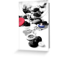 Buttons for Lan Greeting Card