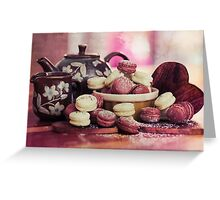 Teatime Treats Greeting Card
