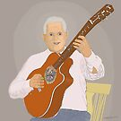 Guitar Player by Fred Jinkins