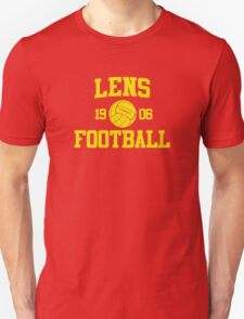 Lens Football Athletic College Style 2 Color T-Shirt