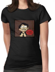 *distressed Markiplier noises* Womens Fitted T-Shirt