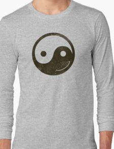 yin yang smiley T-Shirt