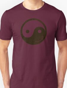 yin yang smiley Unisex T-Shirt