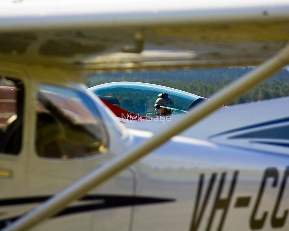 Paul Andronicou - Extra 300 S Pilot by Nick Sage