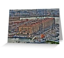 Genoa Old Port Greeting Card