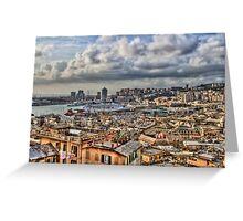 Genoa Old Port Greeting Card