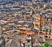 Genoa panoramic by oreundici