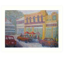 Padbury Building Guildford Art Print