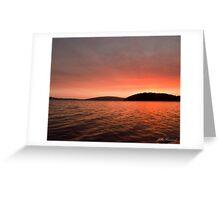 Sunset Walpole, Western Australia Greeting Card