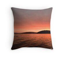 Sunset Walpole, Western Australia Throw Pillow
