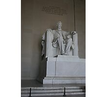 Lincoln Memorial, DC Photographic Print