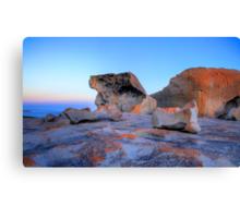 Remarkable Rocks at sunset on Kangaroo Island Canvas Print