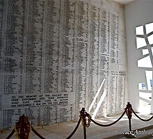 Pearl Harbor - Wall of Heroes by GraceNotes
