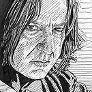 Severus Snape - inky fingers by iszi