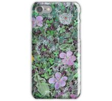 'Dandelions & Clover (Ground Cover #2)' iPhone Case/Skin