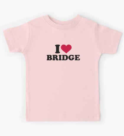 I love Bridge Kids Tee