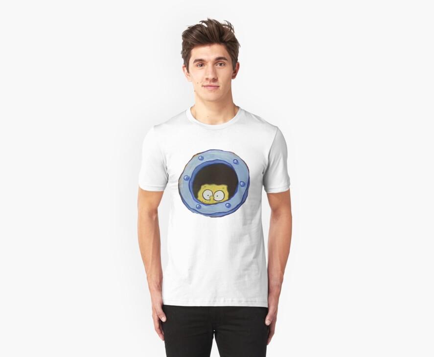 Spongebob Peeping by SuperFluff