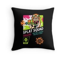 SPLAT SQUAD Throw Pillow