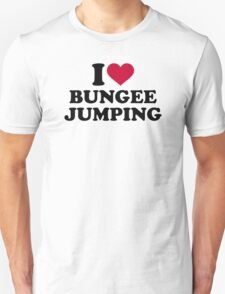 I love bungee jumping T-Shirt