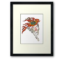 Amaterasu Framed Print