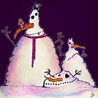 Ugly Snowmen by ZoJones