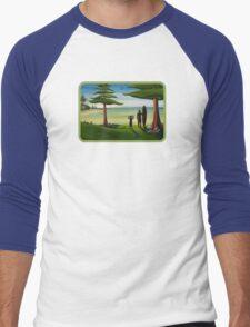Beach Bros Shirt Men's Baseball ¾ T-Shirt