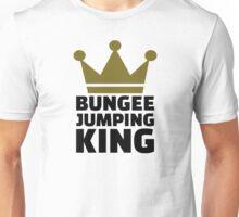 Bungee jumping king Unisex T-Shirt